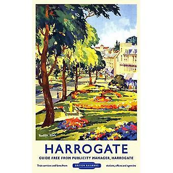 Harrogate (alte Schiene Ad.) Blechschild (400 X 300 Mm)