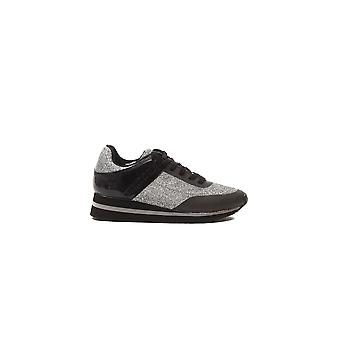 Sneakers Silver E0VOBSB2 VERSACE Woman