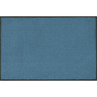 vask + tør tendens farve stål blå vaskes gulvet måtten blå