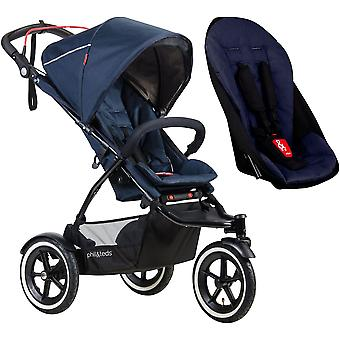 Phil & Teds Sport Pushchair With Auto Stop