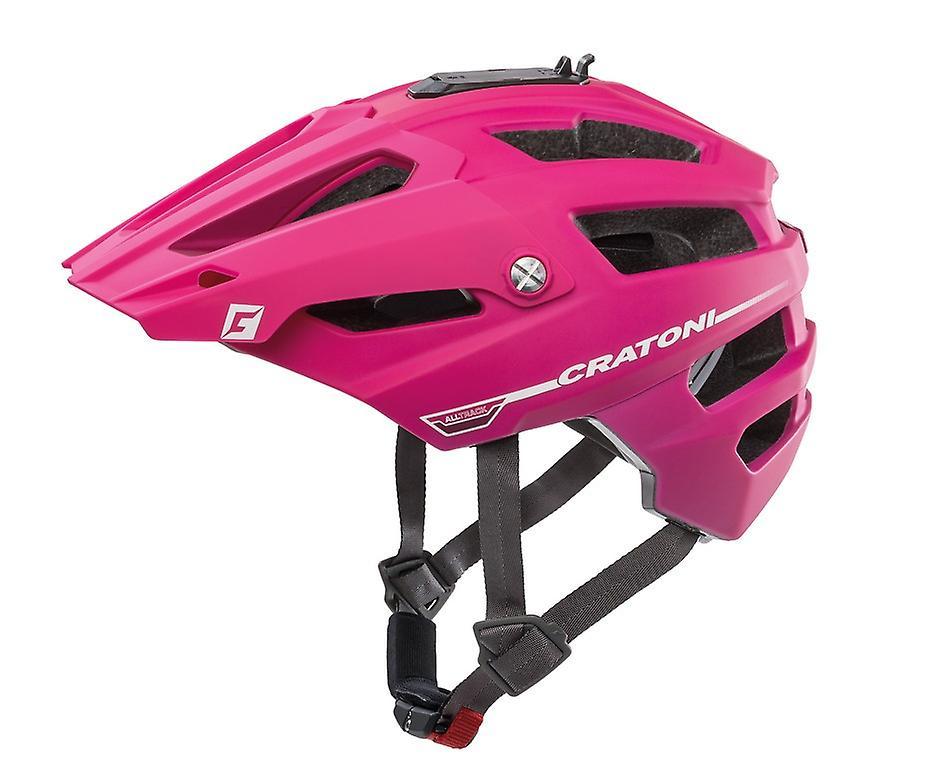 Casque de vélo CRATONI AllTrack     rose   berry Gummy
