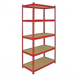 X En Acier 90cm Boulons Rouges 183cm Racking10 Rayonnages rax 45cm Monster Sans Z wP8X0knO