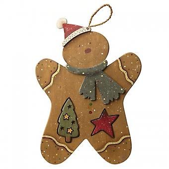 Heaven Sends Wooden Gingerbread Christmas Decoration