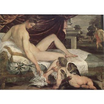 Venus and Cupid, SUSTRIS, Lambert, 40x60cm with tray