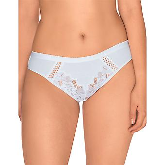 Sans Complexe 604438 Women's Coton d'Arum White Knickers Panty Full Brief