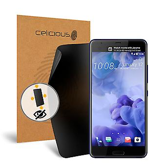 Celicious Privacy Plus 4-Way Anti-Spy Filter Screen Protector Film Compatible with HTC U Ultra