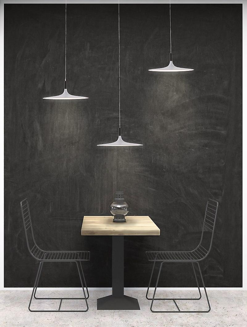Easy to Installed Detachable 3-Heads Industrial-Ceiling-lumière-Cafe-Decoration-Aluminum-Speaker-pendentif-Lamp-Fixtures