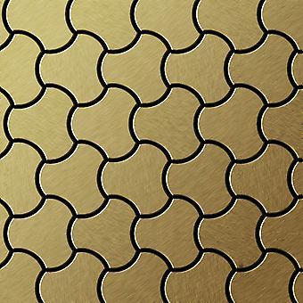 Metal mosaik Titanium LEGERING Ubiquity-Ti-GB