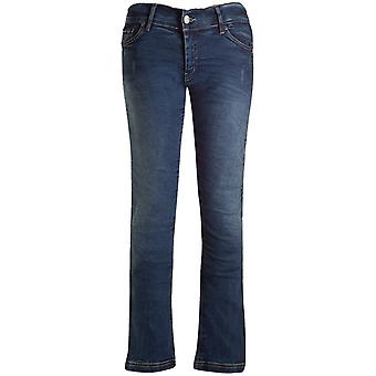 Bull-It blu Vintage SR6 Straight - Jeans Moto Extra lungo