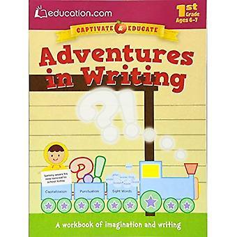 Abenteuer in schriftlicher Form: eine Arbeitsmappe von Fantasie und schreiben