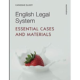 English Legal System: Essential Cases and Materials