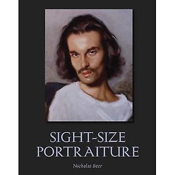 Retrato de vista-tamaño