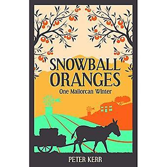 Oranges de boule de neige: Un hiver de Majorque