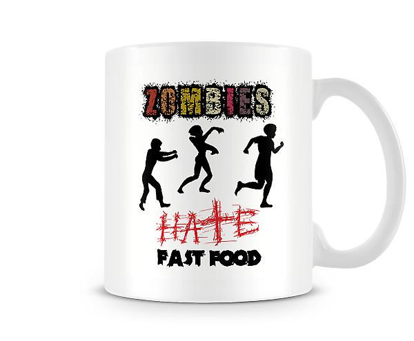 Zombies Hate Fast Food Mug
