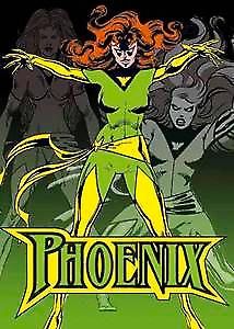 Phoenix fridge magnet