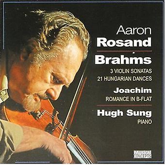 J. Brahms - Brahms: 2 Violin Sonatas; 21 Hungarian Dances; Joachim: Romance in B Flat [CD] USA import