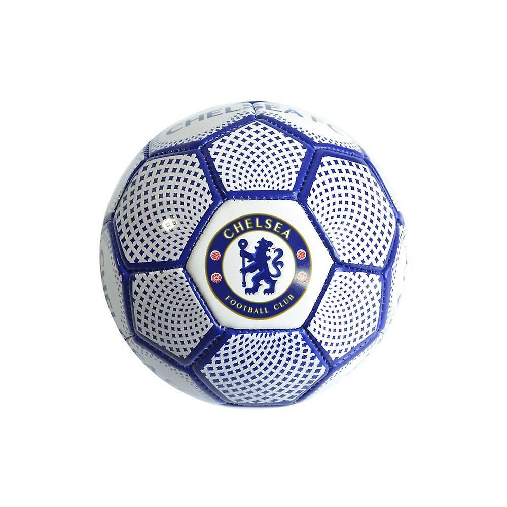 Chelsea FC Diamond Official Supporter Mini Football Soccer Ball White - Size 1