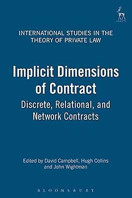 Implicit DiPour des hommesions of Contract Discrete Relational and Network Contracts by Campbell & David