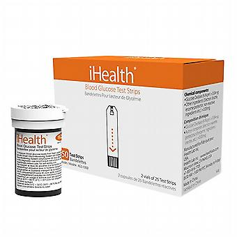 Box of 50 compatible test strips with the meter IHBG5-KIT Ihealth