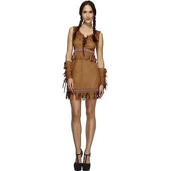 Koorts collectie, Pocahontas kostuum, Brown