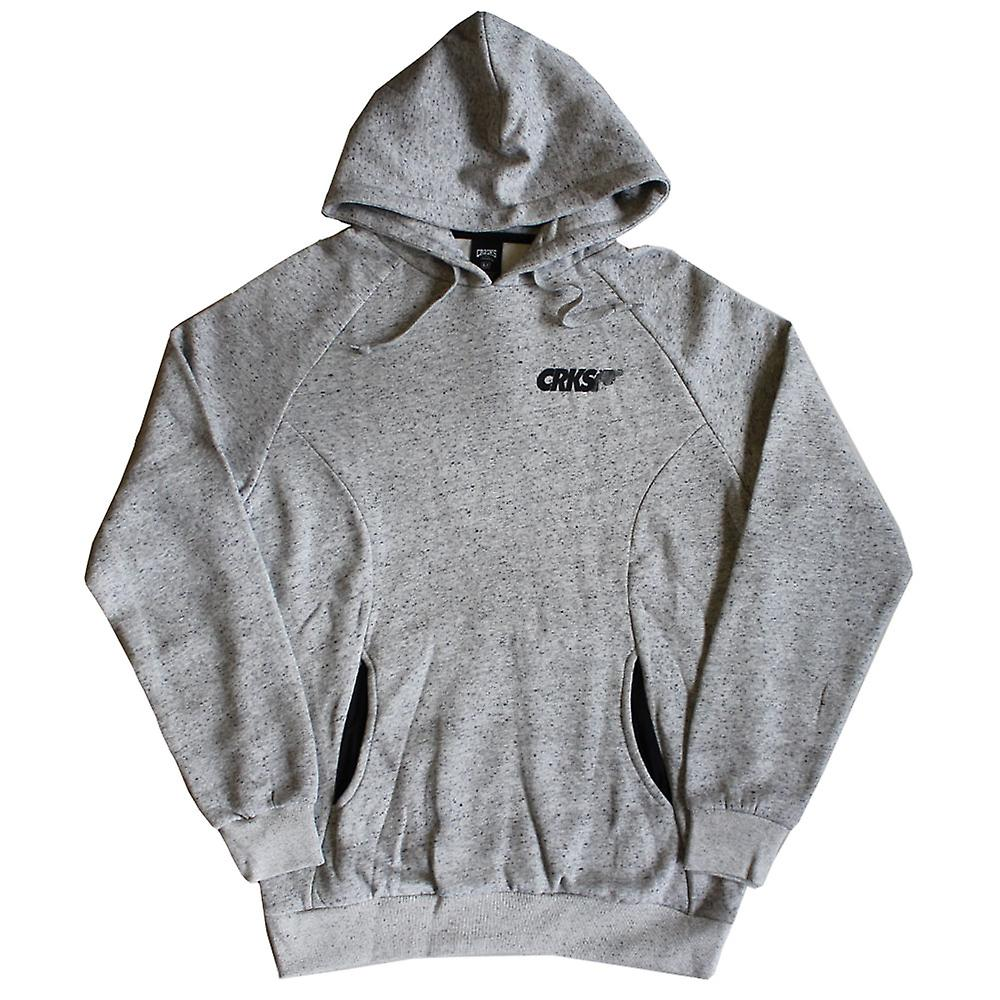 Crooks & Castles Pullover Hoodie Gradient Pistol Grey Speckle
