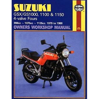 Suzuki GSX/GS1000 - 1100 and 1150 4-valve Fours Owners Workshop Manua