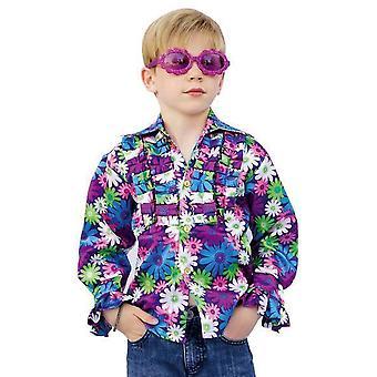 Disfraces infantiles Camisa Disco Hippie para niños