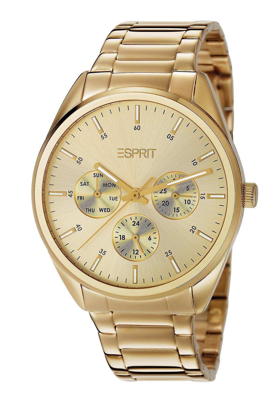 Esprit Glandora gouden Multifunktionsuhr (ES106262009)