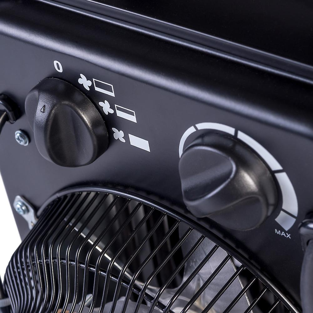 3KW 3-Setting Portable Electric Fan Space Heater Warmer w/ Adjustable Thermostat