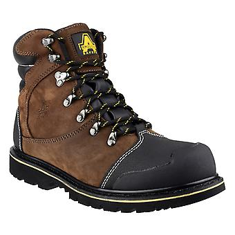 Amblers Safety Mens FS227 Goodyear Welted Waterproof Lace Up Industrial Safety Boot