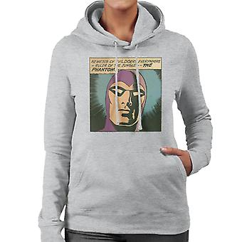 The Phantom Nemesis Of Evil Doers Women's Hooded Sweatshirt