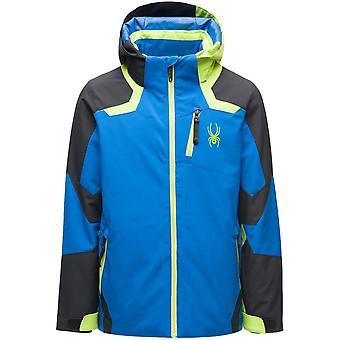 Spyder LEADER Jungen Repreve PrimaLoft Ski Jacke blau