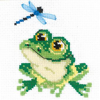 Little Frog Counted Cross Stitch Kit-6