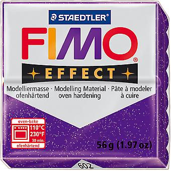 Fimo Soft Polymer Clay 2 Ounces 8020 602 Glitter Purple Ef8020 602Us