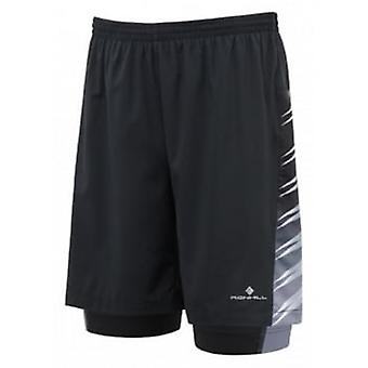 "Advance 7"" Twin Short Black Mens Size Small"
