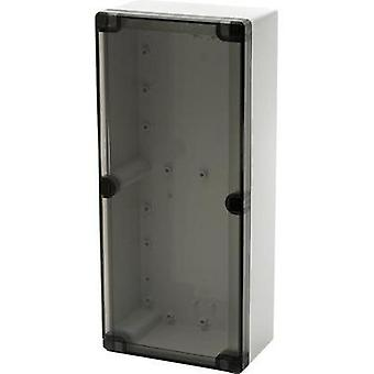 Wall-mount enclosure, Build-in casing 244 x 164 x 90 Polycarbonate (PC) Light grey (RAL 7035) Fibox EURONORD 3 PCQ3 162