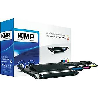 KMP Toner cartridge combo pack replaced Samsung CLT-K4072, CLT-C4072, CLT-M4072, CLT-Y40