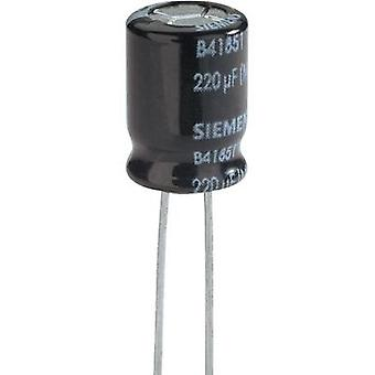 Electrolytic capacitor Snap-in 5 mm 220 µF