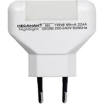 Rectangular LED Warm white Megaman MM001