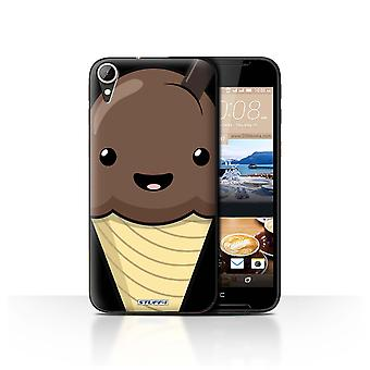STUFF4 Case/Cover for HTC Desire 830/Chocolate Ice Cream/Kawaii Food
