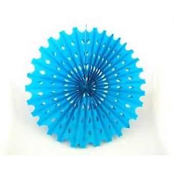 Decoration 'Big Sun' Blue Honeycomb Hanging Fan