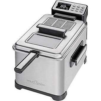 Deep fryer with display Profi Cook PC-FR 10 Stainless steel, Black