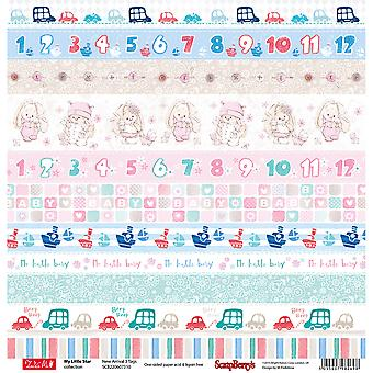 ScrapBerry's My Little Star Single-Sided Cardstock 12