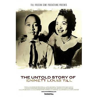 The Untold Story of Emmett Louis Till filmposter (11 x 17)