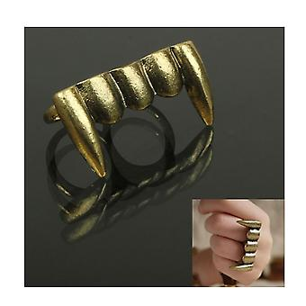 Skull ring skull stainless steel solid biker Gothic fashion jewelry men's women's new