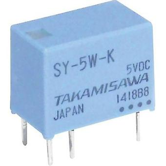 PCB relays 12 Vdc 1 A 1 change-over Takamisawa SY-12W-K 1 pc(s)