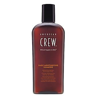 American Crew Daily Moisturizing Shampoo 250ml For all hair types