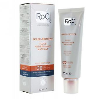 Roc Soleil Protect 30 Matifying Fluid 50 ml (Cosmetics , Facial , Sun protection)
