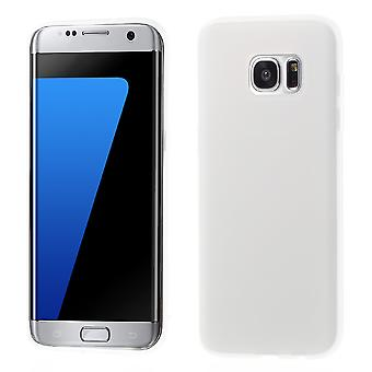 Mate in TPU rubber cover for Samsung Galaxy S7 Edge (white)