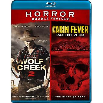 Wolf Creek 2 / Cabin Fever [Blu-ray] USA import